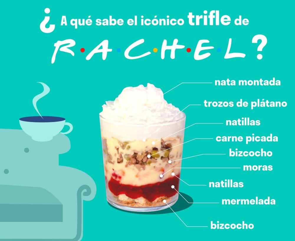 El icónico trifle de Friends